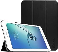 """Fintie Samsung Galaxy Tab S2 9.7 Custodia - Ultra Sottile Di Peso Leggero Tri-Fold Case Cover con Funzione Sleep/Wake per Samsung Galaxy Tab S2 9.7"""" T810N / T815N / T813N / T819N, Nero"""