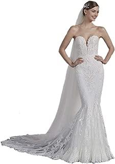 Eyelash French Soft Lace-Edge Long Chapel Wedding bride veil DB122