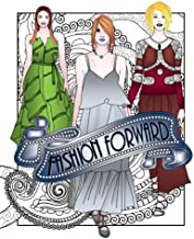 Fashion Forward Adult Coloring Book: Adult Coloring Book