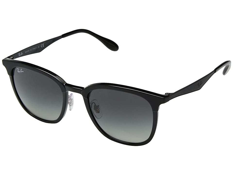 Ray-Ban 0RB4278 51mm (Black/Dark Grey Gradient) Fashion Sunglasses