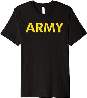 Army APFU PT Workout Premium T-Shirt