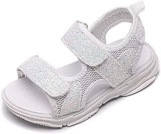 Infant Baby Girls Sandals Soft Anti-Slip Sequins Prewalker Flat Shoes Crib Summer Casual Beach Shoes