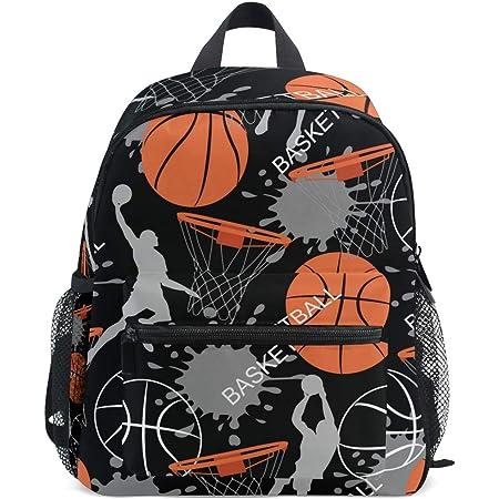 Coloranimal Stylish Book School Laptop Bags Cute 3D Basketball Prints Outdoor Travel Shoulder Bags