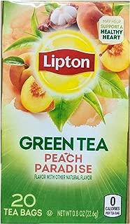 Lipton Peach Paradise Green Tea 20 ct