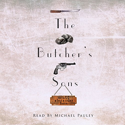 The Butcher's Sons audiobook cover art