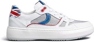 Nero Giardini E033761M Sneakers Teens da Ragazzo in Pelle E Tela
