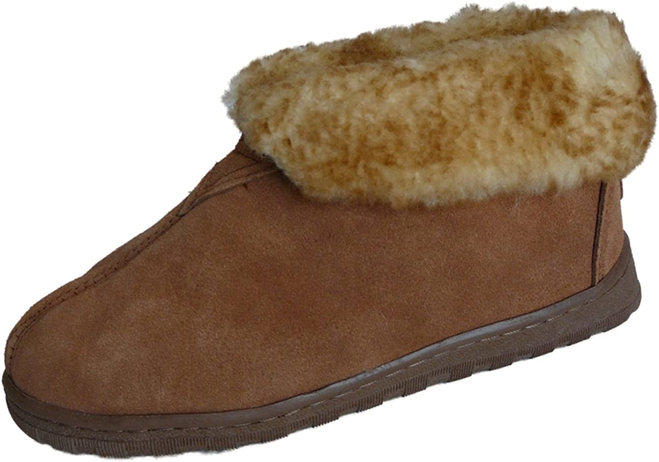 WoolWorks Clearance SALE! Limited time! Model 9-75B Women's Slippers Sheepskin Detroit Mall Australian Sued