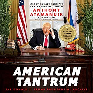 American Tantrum audiobook cover art