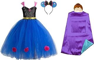 Chunks of Charm Frozen Costume Inspired Princess Tutu Dress from Dot Com