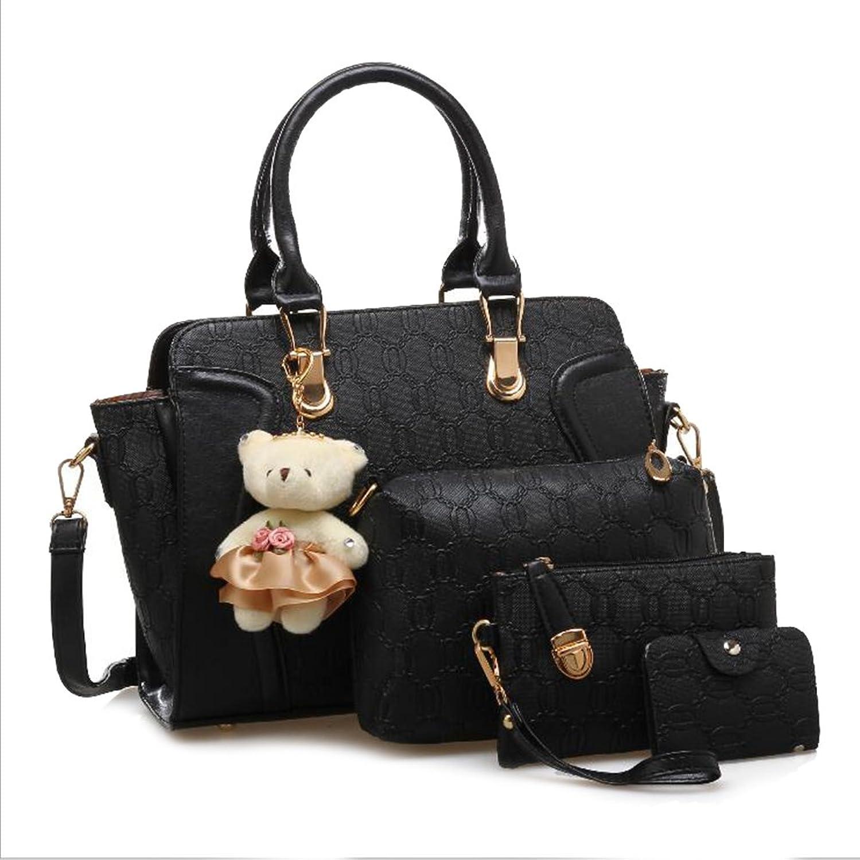 HaHapo Shoulder Bag Handbag Pu Leather Patchwork Women Handbag Messenger Bag