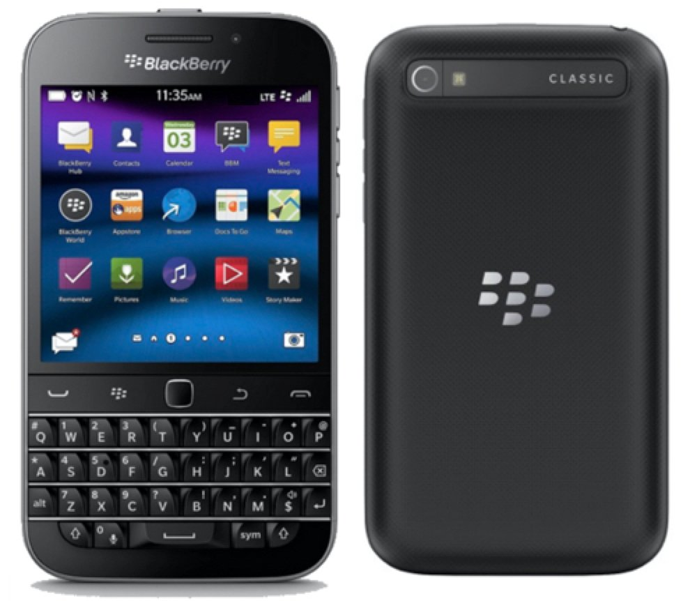 Blackberry Classic, 16 GB (Wi-Fi + 4G LTE) (T-Mobile) Qwerty ...