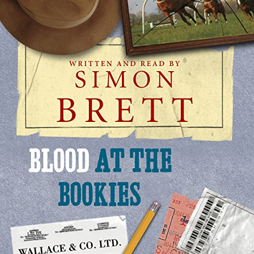 Blood at the Bookies audiobook cover art