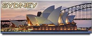 Sydney Opera House panoramic Fridge Magnet Australia Travel Souvenir