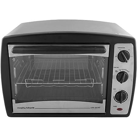 Morphy Richards 28 RSS 28 Liters Oven Toaster Griller, Black
