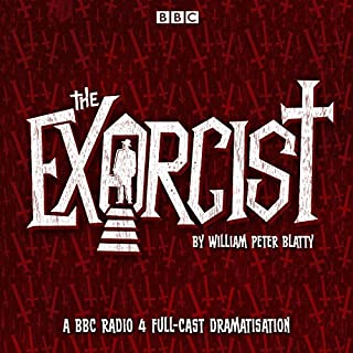 The Exorcist audiobook cover art