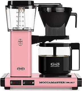 Moccamaster CD rosa överflödeskaffebryggare KBG 741 Select