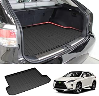 Powerty Trunk Mat All Weather TPO Rear Cargo Liner for Lexus RX350 RX450h 2016 2017 2018 2019 2020 2021