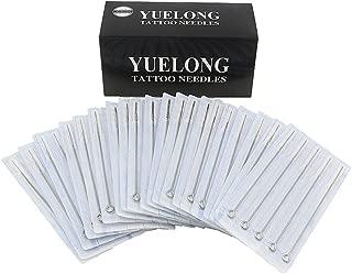 Tattoo Needles Set - Yuelong 100 Pcs Disposable Sterile Mixed Tattoo Guns Needles 3rl 5rl 7rl 9rl 5rs 7rs 9rs 5m1 7m1 9m1 Used For Tattoo Machine Tattoo Kit Tattoo Supplies
