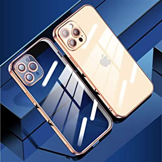 TOTU Soft Jane Series-Hardcover Edition, Slim TPU Clear Case For iPhone 12 Series With Lens Protect Camera, True 360˚ Prot...