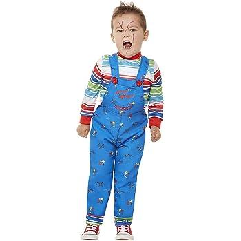 Smiffys 61027T2 - Disfraz de Chucky con licencia oficial, para ...