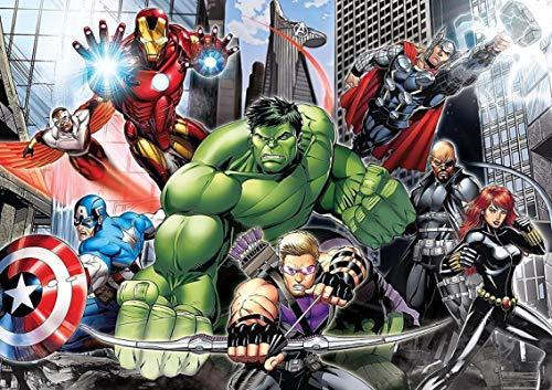 WallDiy 3d Fototapete 3d Cartoon Kinderzimmer Tapete Avengers Schlafzimmer Hintergrund Tapete Spiderman