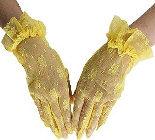 AiKoch Donne del Manicotto di Inverno della Signora del Cuoio Genuino del Braccio dei Guanti di Pelle Femminile Gomito Lungo Stile Cold Protection Color : Dark Brown, Gloves Size : 6 1//2