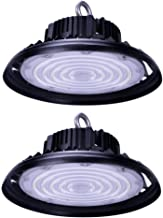 CYLED 150W UFO Led High Bay Lighting, Ul Listed, 300W Hps/Mh Bulbs Equivalent, 18500Lm, Waterproof, Daylight White, 6000K,...