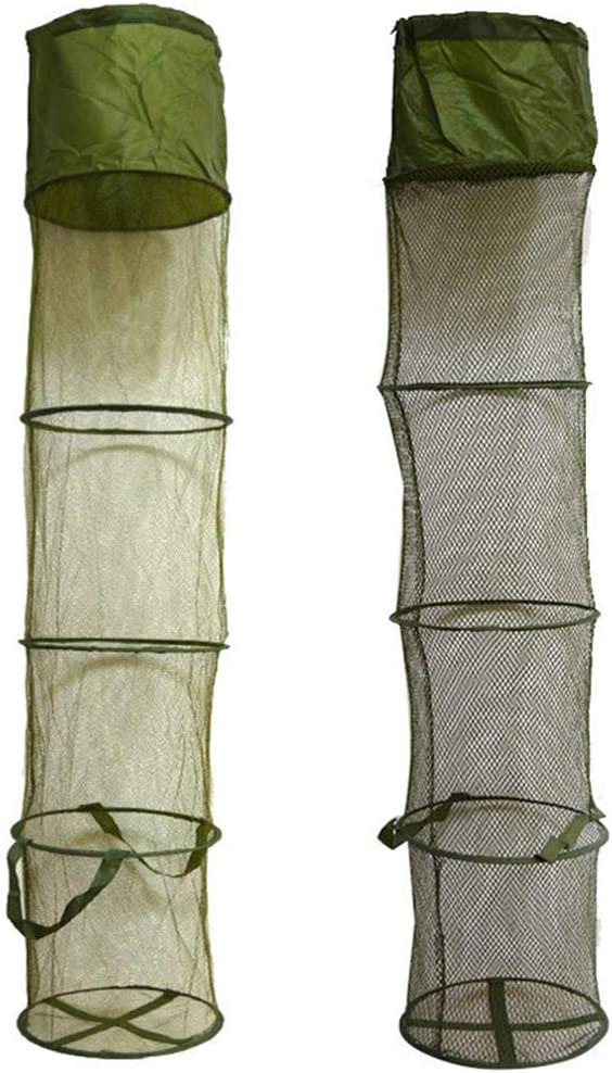 JOINSI 2 Pcs Max 52% OFF Fishing Cage N Collapsible Trap Basket Brand new Bait