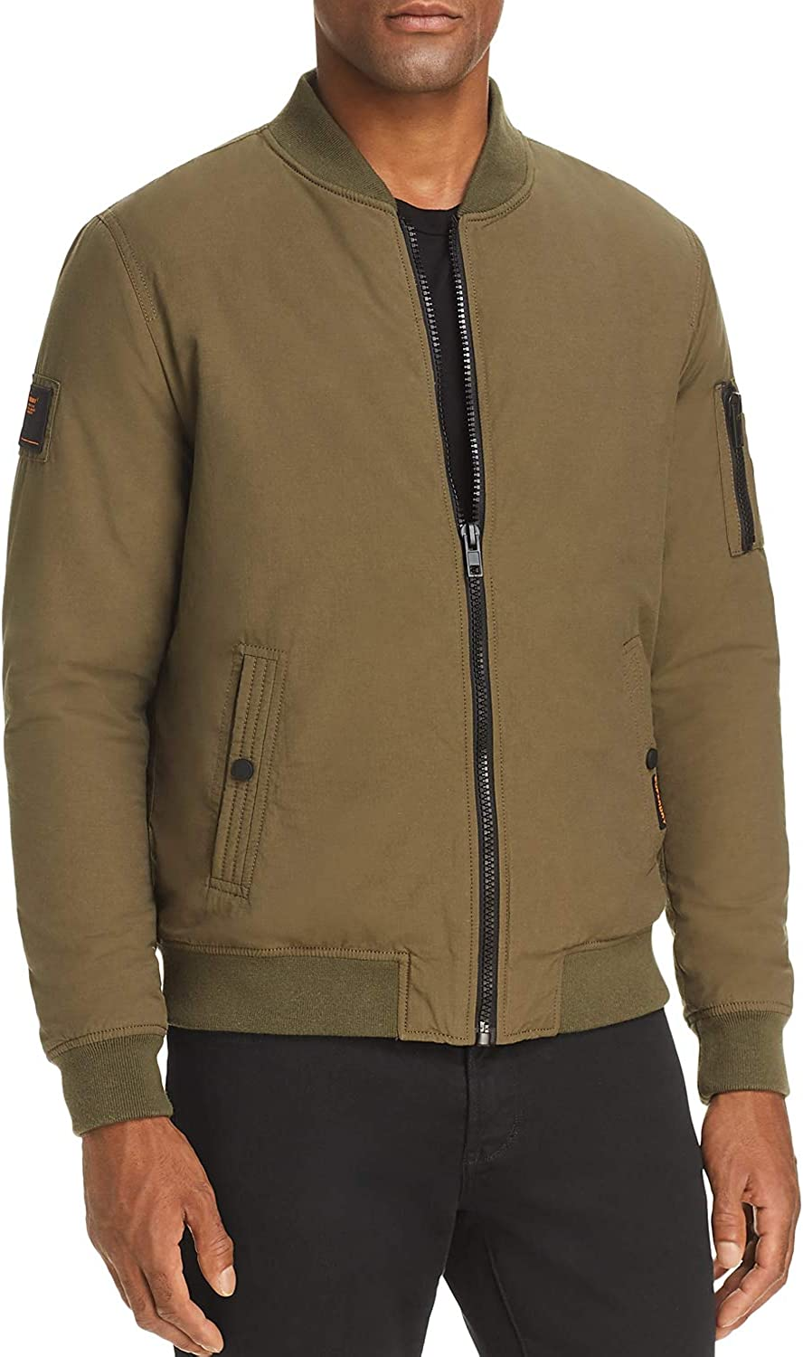 Superdry Mens Air Corps Winter Quilted Bomber Jacket