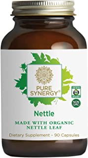 Pure Synergy Freeze-Dried Nettle Leaf (90 Capsules) Supports Healthy Histamine Levels During Allergy Season