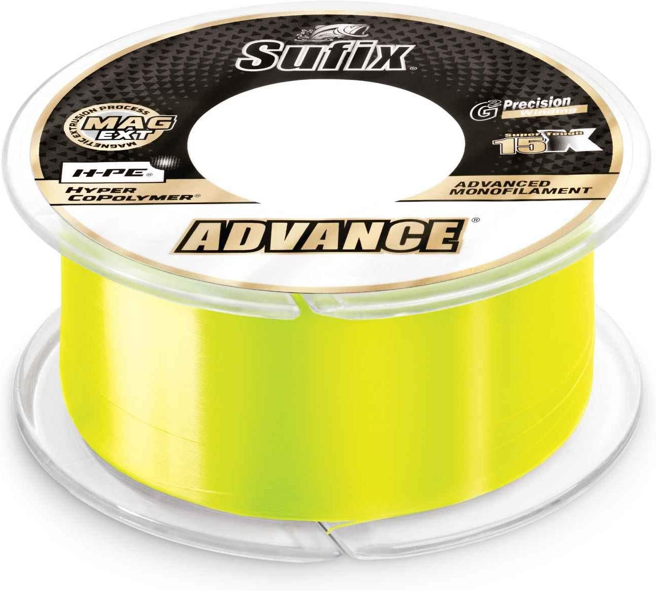 Advance Monofilament 17 lb Neon - Yds 330 Discount mail order Max 65% OFF Lime