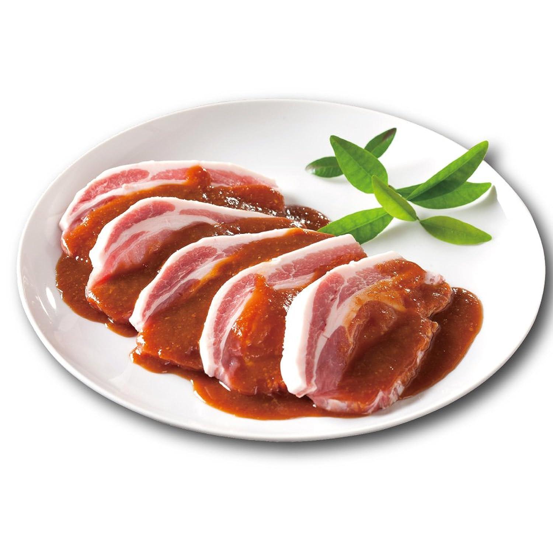 母の日 御祝 豚みそ漬け ロース 味噌漬け 5枚入450g 肉のイイジマ