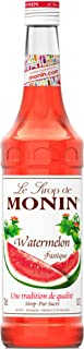 Monin WATERMELONE-siroop, per stuk verpakt (1 x 700 ml)
