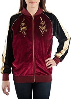 Harry Potter Magical Creatures Velour Bomber Jacket