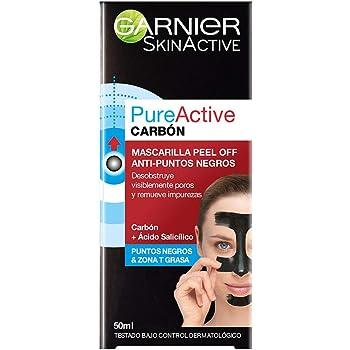 Garnier Skin Naturals Face Mascarilla Peel Off con Carbon