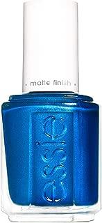 essie Nail Polish, Blue Nail Color, Matte Finish, Wild Card, 0.46 Fl Oz