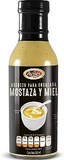 Aviles Aderezo Mostaza Honey, 355 ml