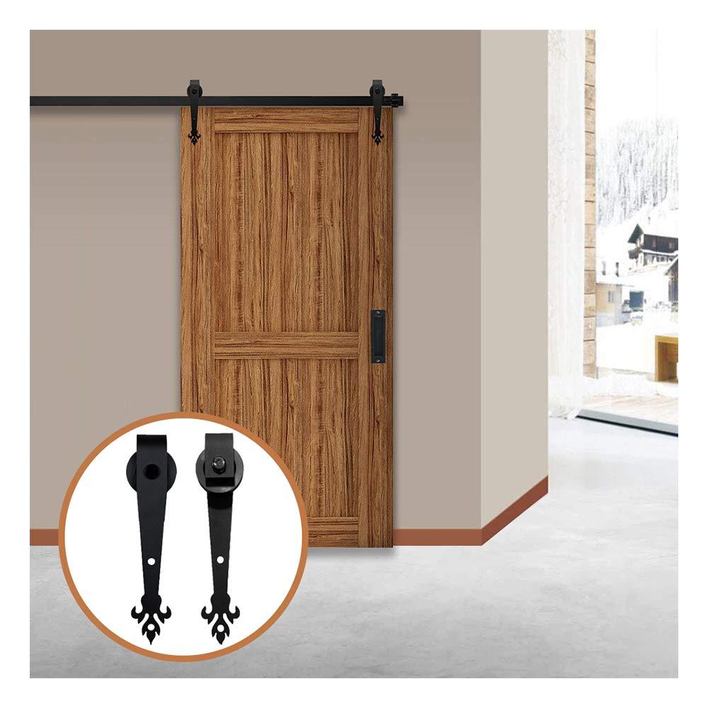 LWZH 10FT/305 cmHerraje para Puerta Corredera Kit de Accesorios para Puertas Correderas: Amazon.es: Bricolaje y herramientas