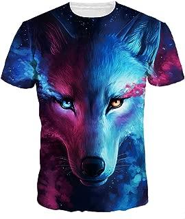 Unisex 3D Print Short Sleeve T-Shirt Fashion Couple Tees