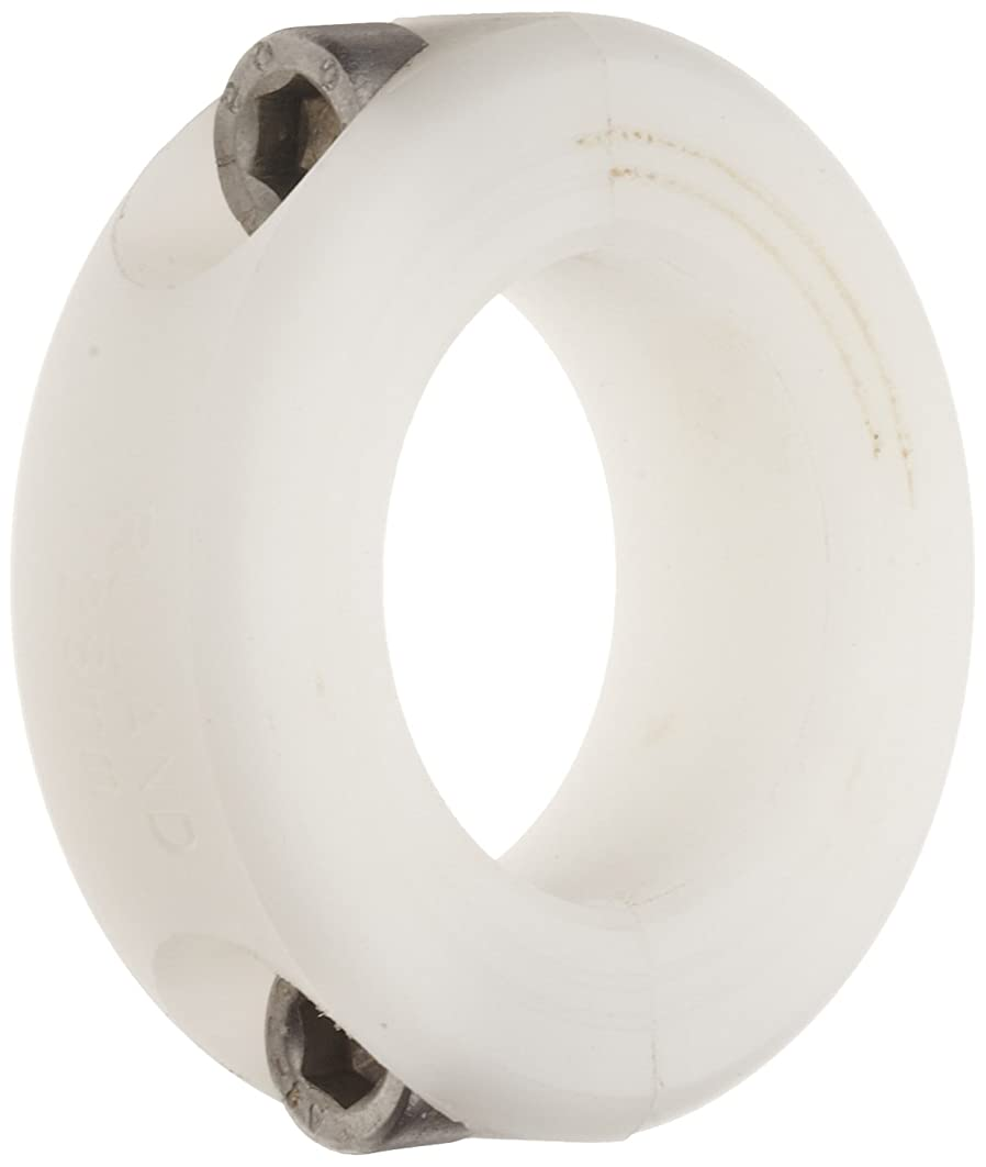 Ruland MSP-20-P Two-Piece Clamping Shaft Collar, Plastic, Metric, 20mm Bore, 40mm OD, 15mm Width (Pack of 2)