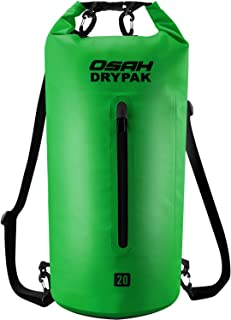 OSAH DRYPAK Premium Bolsa Estanca Seca Impermeable 5L 10L 15L 20L 30L para Kayak Barco Pesca Rafting Playa Acampar Natación Deriva