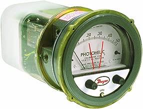Dwyer Photohelic Series A3000 Pressure Switch/Gauge, Range 0-10
