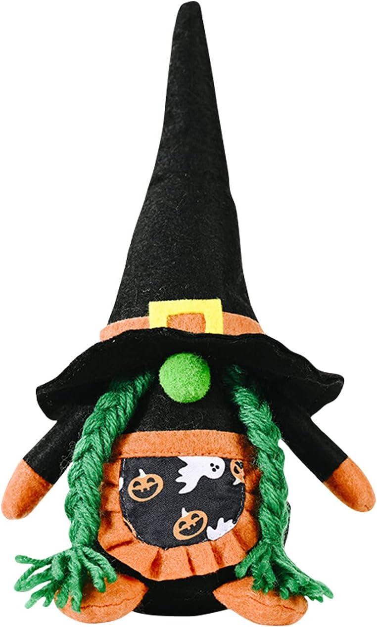 New mail order SJKU Halloween Plush Gnomes Max 52% OFF Doll Decoration Gnome Handmad