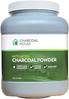 Activated Charcoal Powder - Food Grade 40 oz