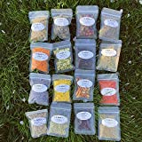 Okdokey Witchcraft Beginner's Herb Kit   15 Herbs for Witchcraft   Wiccan Herbs   Magic Spells   Dried Herbs and Flowers for Spells   Witch Rituals   Altar Supplies