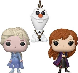 Funko Set 3 Figuras Pop Disney Frozen II Olaf, Anna y Elsa