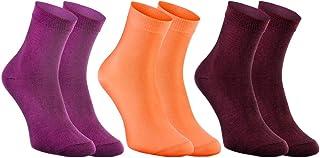 Rainbow Socks, Mujer Calcetines Antibacterianos con Iones de Plata