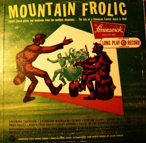 Mountain Frolic, Edited By Alan Lomax LP (1950)