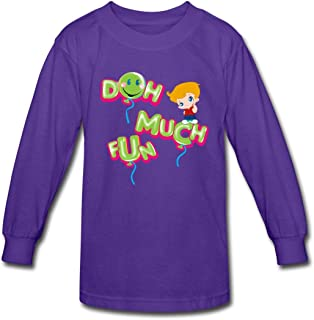 Funnel Vision Doh Much Fun Kids' Long Sleeve T-Shirt