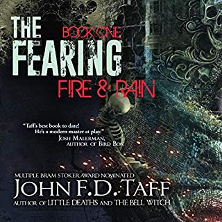 The Fearing: Fire & Rain audiobook cover art